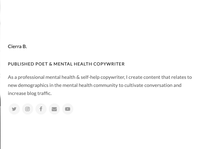 mental health writing 3