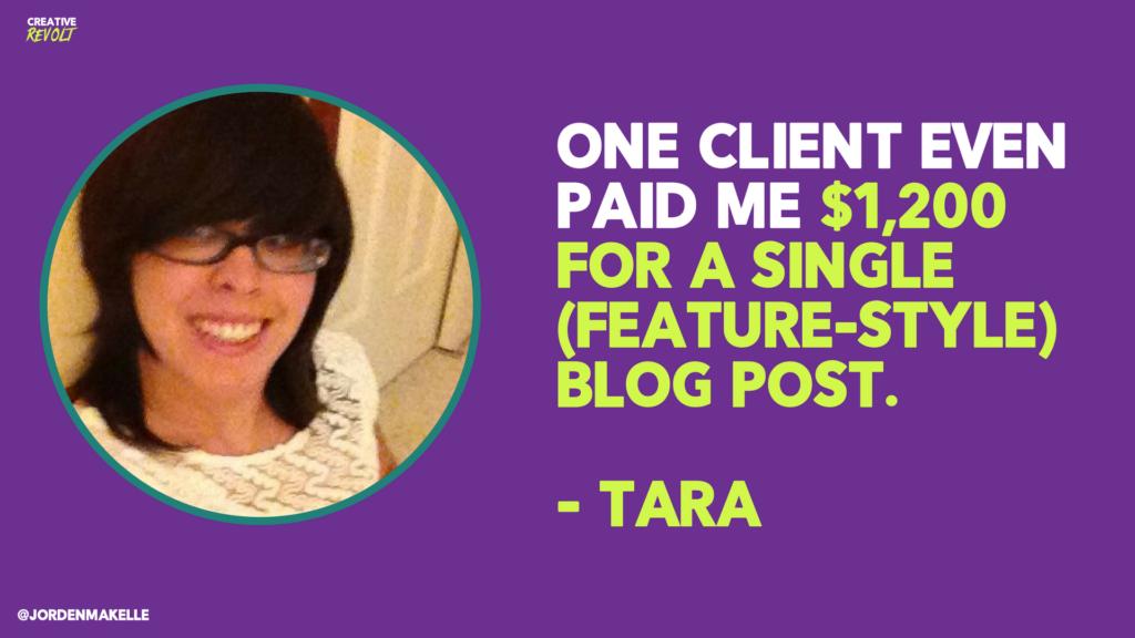 freelance writing success story