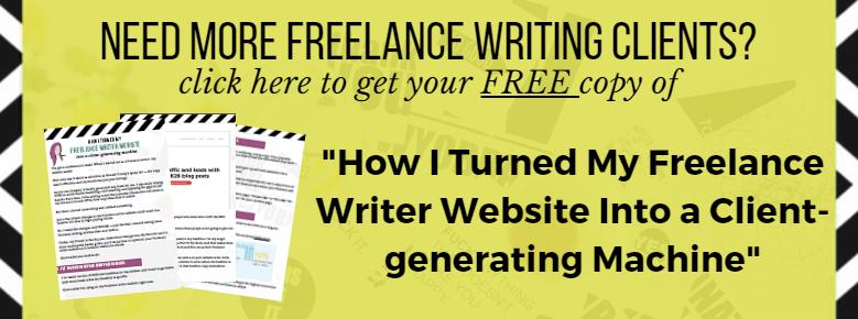 freelance writer website