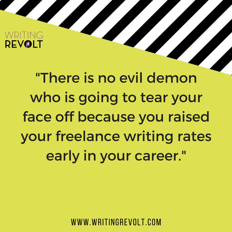 freelance writing rates