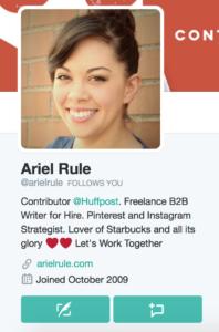 twitter for freelance writers