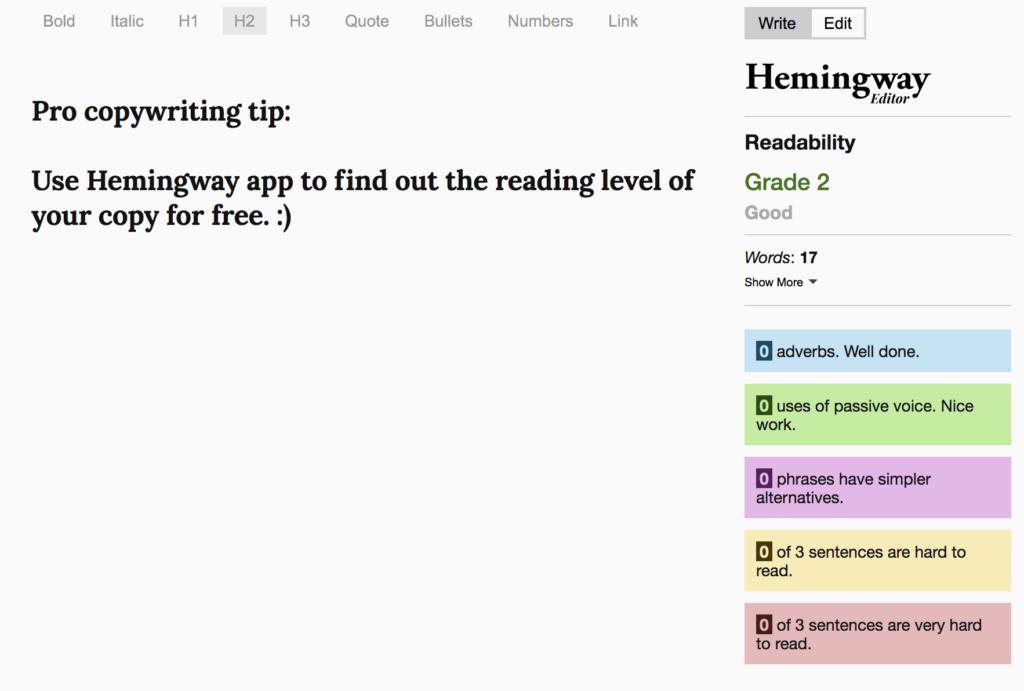copywriting for beginners 7