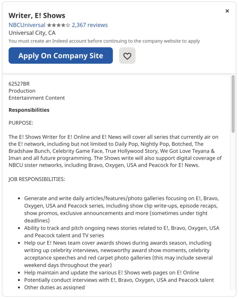 entry level jobs for english majors 9